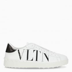 Valentino Garavani Men's white/black VLTN Open sneakers