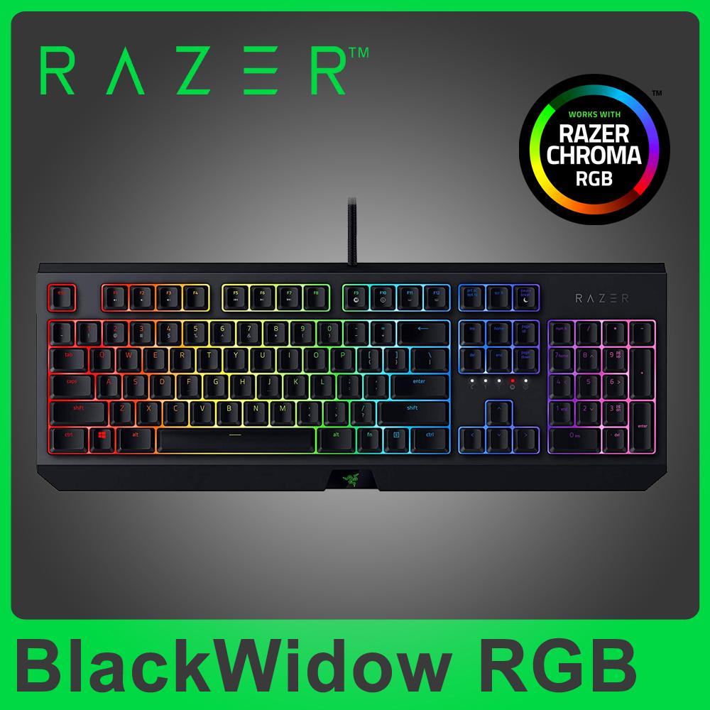 ★快速到貨★Razer 雷蛇 BlackWidow 黑寡婦蜘蛛 機械式 RGB 鍵盤