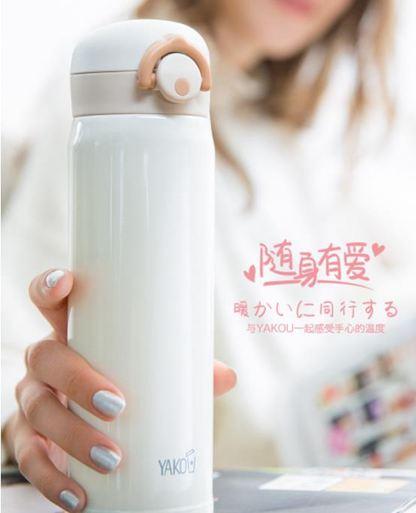 保溫杯日本迷你保溫杯瓶男女士泡茶便攜學生簡約韓版清新文藝可愛水杯子