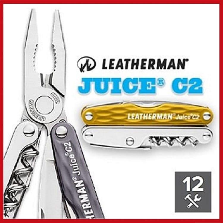 Leatherman JUICE C2工具鉗 420不鏽鋼【AH13115】