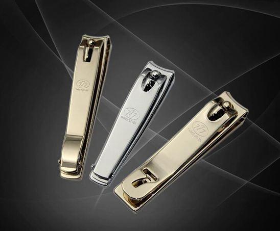 韓國777指甲刀指甲剪單個裝成人家用大中小號剪指甲刀斜口指甲鉗