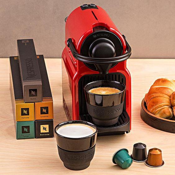 Inissia膠囊咖啡機歐洲進口全自動咖啡機220V