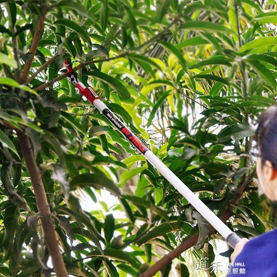 日本沙龍園林工具3米高枝剪伸縮高空剪果樹枝剪鋸修枝剪刀摘果器.