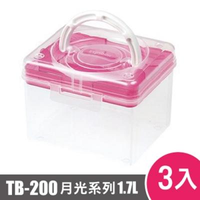 樹德shuter 月光系列手提箱200型TB-200 3入