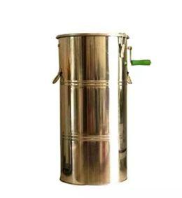 搖蜜機不銹鋼蜜搖機甩蜜桶小型家用蜂蜜分離搖糖取蜜工具養蜂