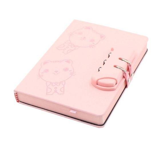 創意日記本密碼本學生帶鎖筆記本子日式手帳本韓國小清新文具