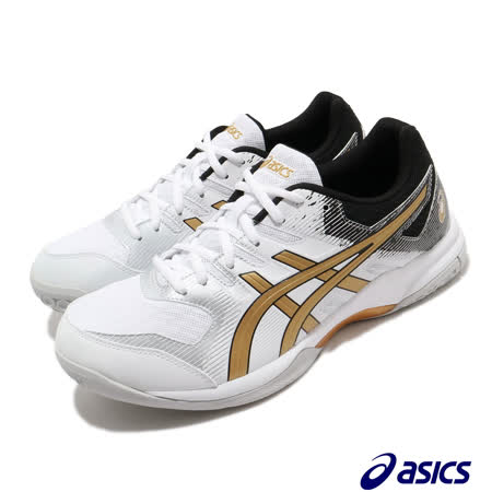 Asics 排球鞋 Gel Rocket 9 運動 男鞋 亞瑟士 緩衝 透氣 舒適 亞瑟膠 白 黑 1071A030103 1071A030103
