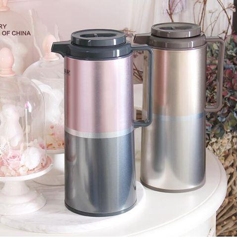保溫壺家用熱水壺玻璃內膽暖壺開水瓶大容量熱水瓶保溫水壺