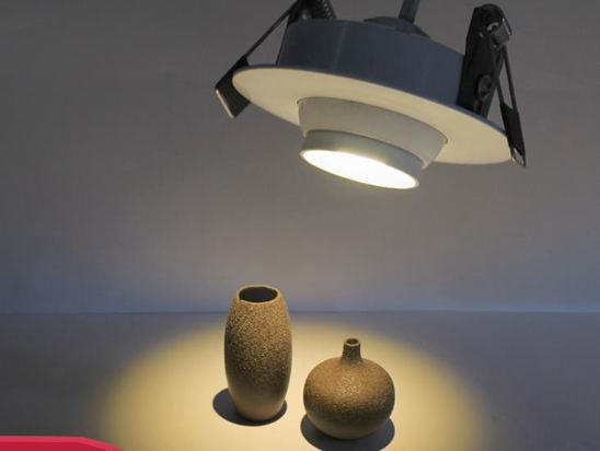 補光燈LED迷你小射燈3W客廳天花吊頂變焦嵌入式櫃檯聚光牛眼小型開孔燈