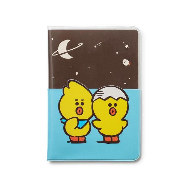 Sally & Friends 護照套(藍)