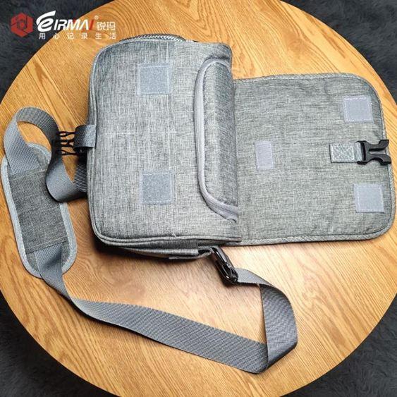 攝影包銳瑪單反相機包便攜側背佳能尼康索尼富士微單文藝男女數碼攝影包