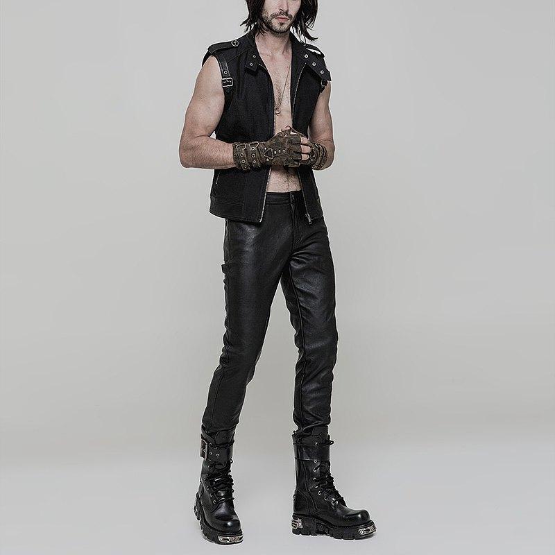 龐克金屬荒野皮褲