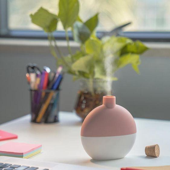 風格派IRIS加濕器家用辦公北歐莫蘭迪簡約創意便攜式裝飾禮品