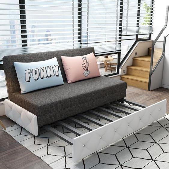 折疊沙發床可折疊沙發床兩用客廳小戶型雙人多功能簡約現代省空間三人沙發