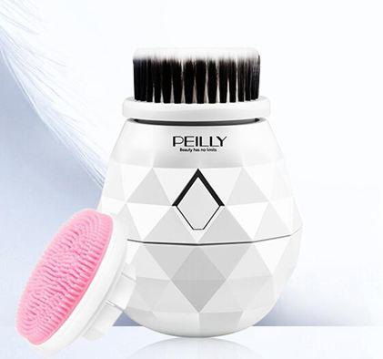 洗臉儀佩麗洗臉儀潔面儀毛孔清潔器面部充電式女電動硅膠洗臉刷神器
