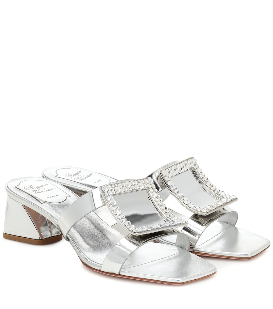 Bikiviv' 45 metallic leather sandals
