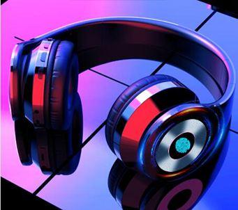 耳機耳機頭戴式無線藍芽5.0觸控重低音運動音樂手機電腦通用耳麥插卡
