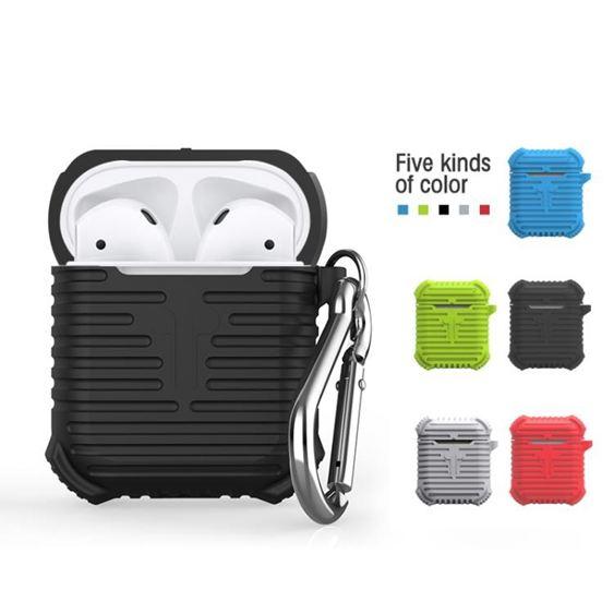 無線藍芽耳機保護套適用於Airpods蘋果矽膠防摔殼創意配件