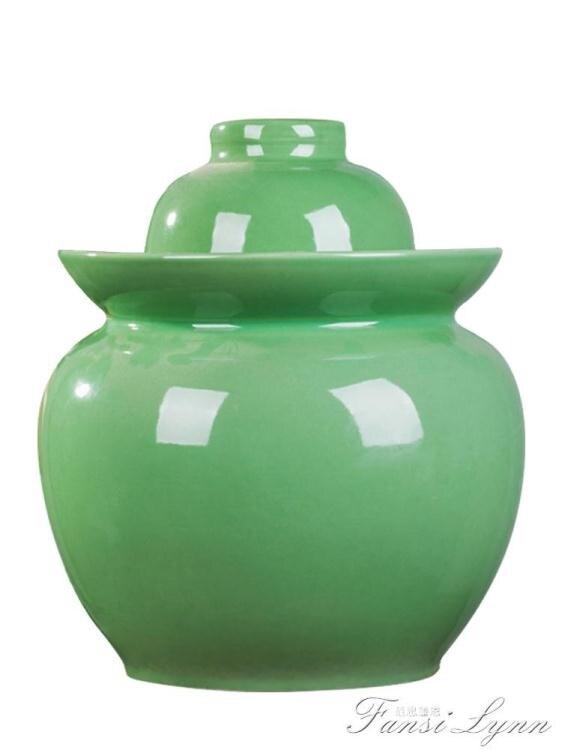 泡菜壇子 陶瓷家用加厚土陶密封罐四川咸菜酸菜 小腌菜壇子泡菜壇