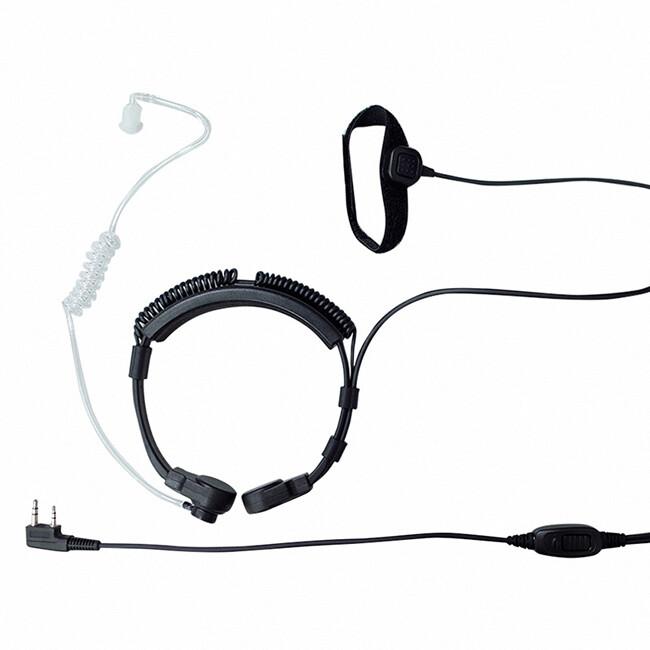 s psr (e8s3b-m4-k) k型 喉震式伸縮耳機 (無線電對講機專用)