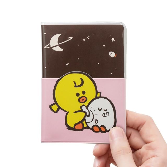Sally & Friends 護照套(粉紅)