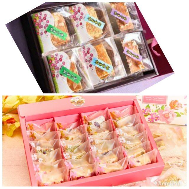 薄餅禮盒6包+千層雪花餅28入1190元