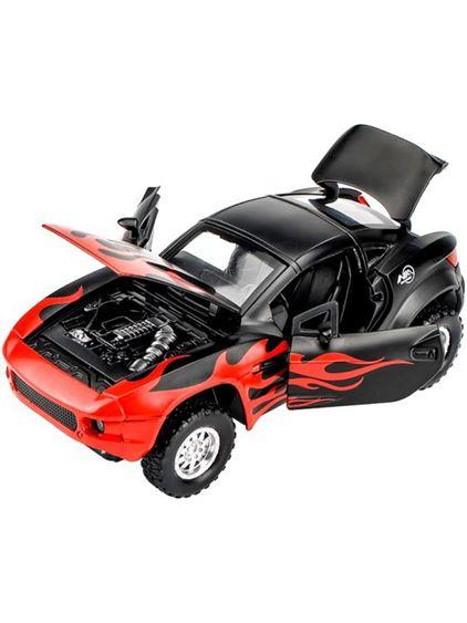 合金車模型兒童玩具車1:32拉力戰神仿真越野汽車模型回力賽車車模