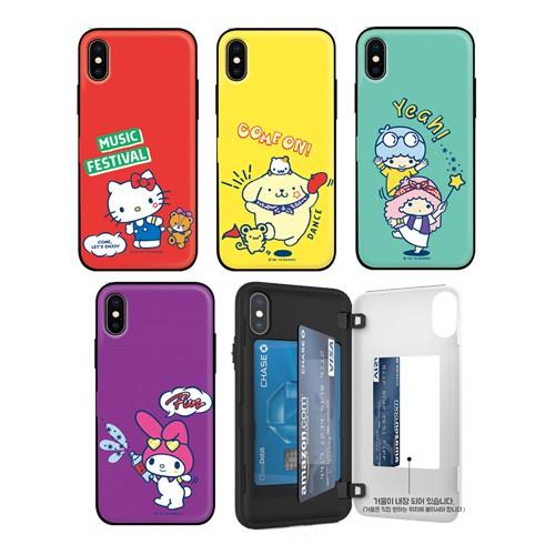韓國 KITTY 布丁狗 美樂蒂 手機殼 磁扣卡夾│LG G8 VELVET V50 V50S G8X