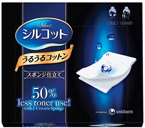 Unicharm 絲花化妝棉(有2種)