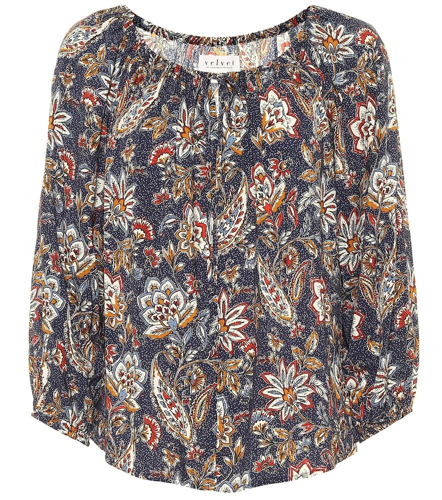 Odet floral blouse