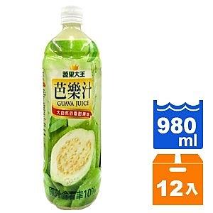 維他露 蔬果大王 芭樂汁 980ml (12入)/箱【康鄰超市】