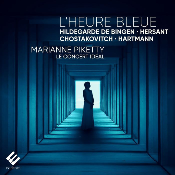 拂曉時刻 琵克媞 小提琴 Marianne Piketty L Heure Bleue EVCD068