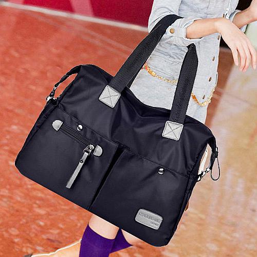 2020新款大容量韓版女包單肩包斜挎布包大包尼龍帆布包手提旅行包 酷男精品館