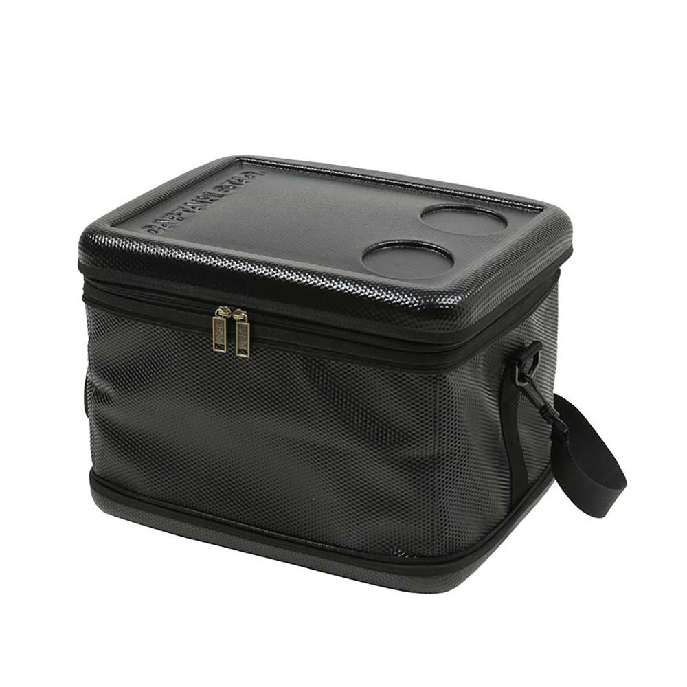 日本鹿牌長效折疊保冷袋25L黑色 UE-577