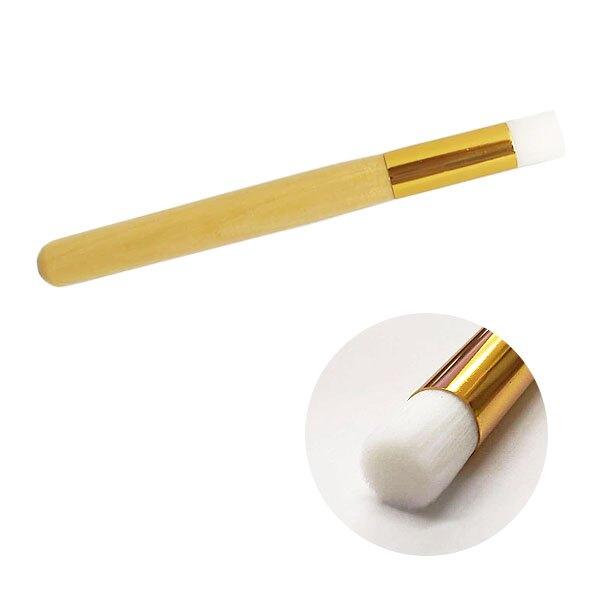 細毛木柄洗鼻刷 軟毛鼻頭粉刺刷 超細纖維鼻翼刷 清潔毛孔洗顏刷洗臉刷