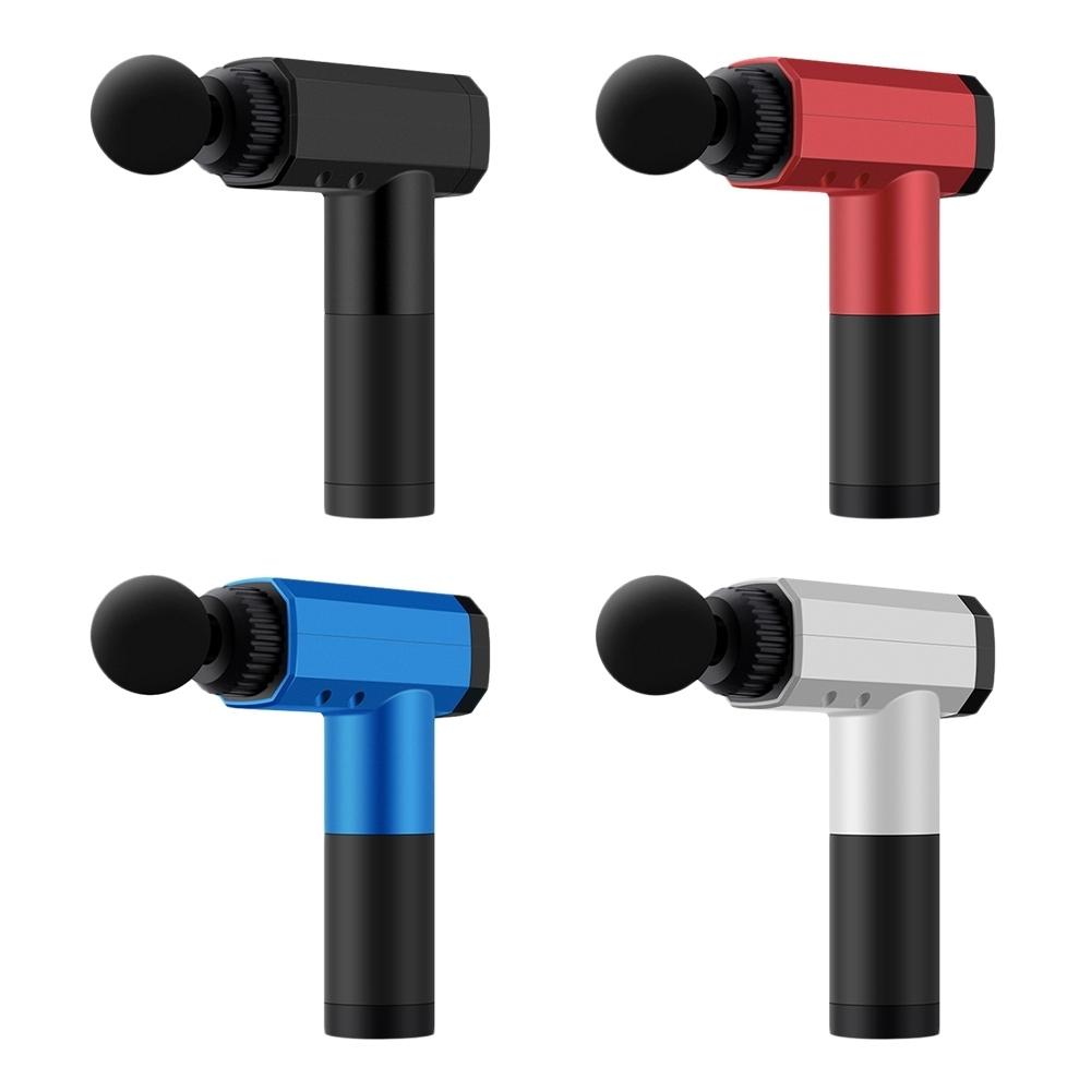 數位觸控深層震動按摩槍  /USB工業風全新震動科技