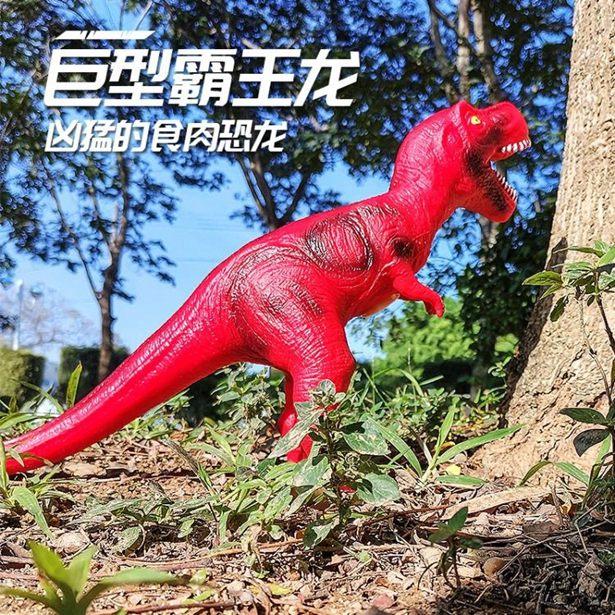 【618購物狂歡節】動物玩具 兒童玩具恐龍套裝超大號霸王龍塑膠仿真動物模型三角龍寶寶女男孩全館特惠限時促銷