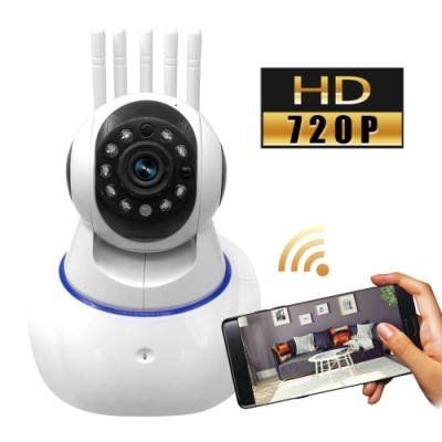 贈32GB記憶卡 監視者PLUS 五天線WiFi網路夜視監控攝影機
