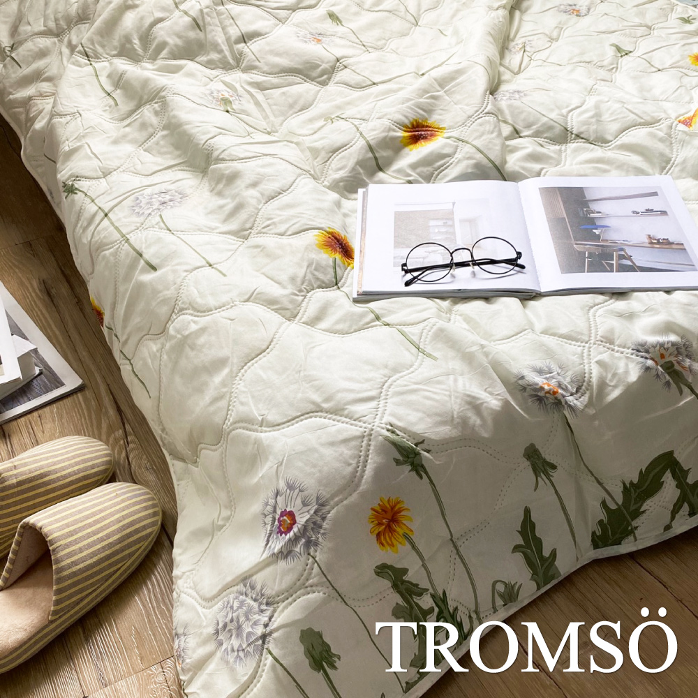 TROMSO都會北歐水洗棉薄款夏涼被-南法花鄉