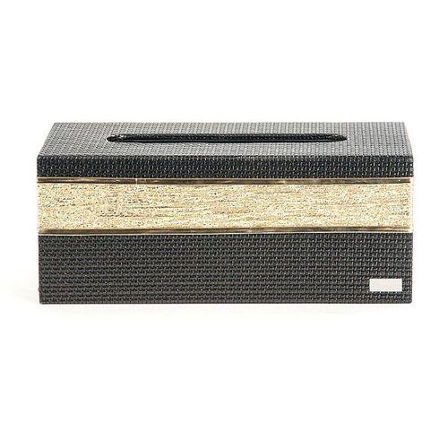 【Finara 費納拉】溫莎公爵黑金色-CEO方形大面紙盒