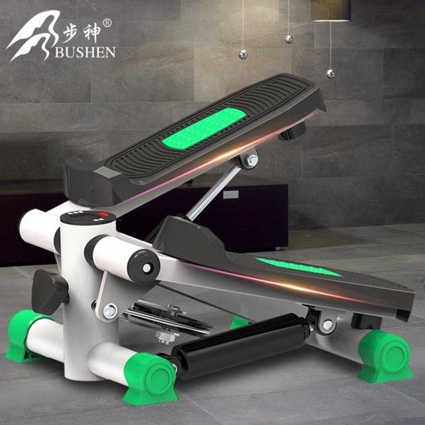 踏步機步神踏步機家用靜音正品腳踏機運動器材免安裝瘦腿健身器材全館特惠限時促銷