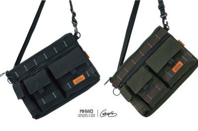 【Matchwood直營】Matchwood X Culture 聯名三口袋機能小包 軍黑款 街頭硬派軍事工裝穿搭風格