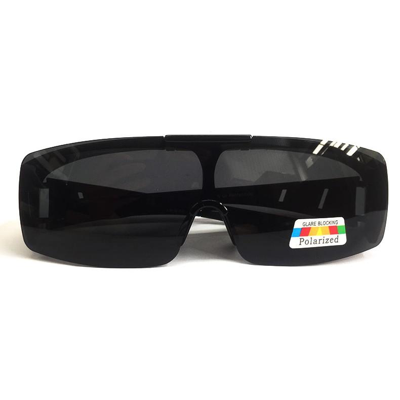 POLARS DESIGN 可掀式偏光太陽眼鏡 偏光眼鏡 太陽眼鏡 新款 包覆式 套鏡 有無近視皆可戴 三色