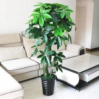 仿真植物 假樹發財樹仿真植物落地盆栽大型客廳盆景假花塑料花裝飾仿真綠植全館特惠限時促銷