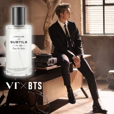 VT X BTS L ATELIER-RM「森之呼吸」香水 ★贈防彈少年團立牌