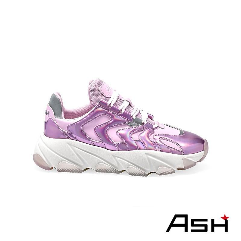 ASH EXTREME 增高厚底老爹鞋 粉色