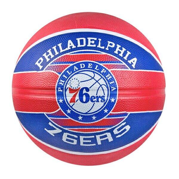 Spalding 19'  76SER [SPA83675] 籃球 7號 NBA 球隊 耐磨 橡膠 室外 76人 紅藍