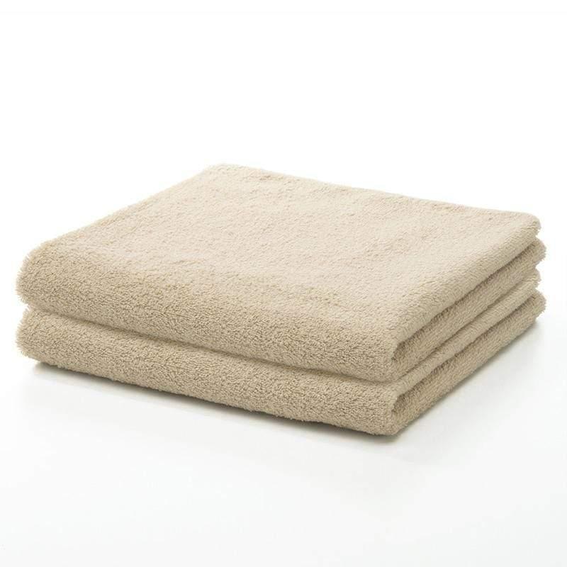 今治飯店毛巾 二入組 - 米黃