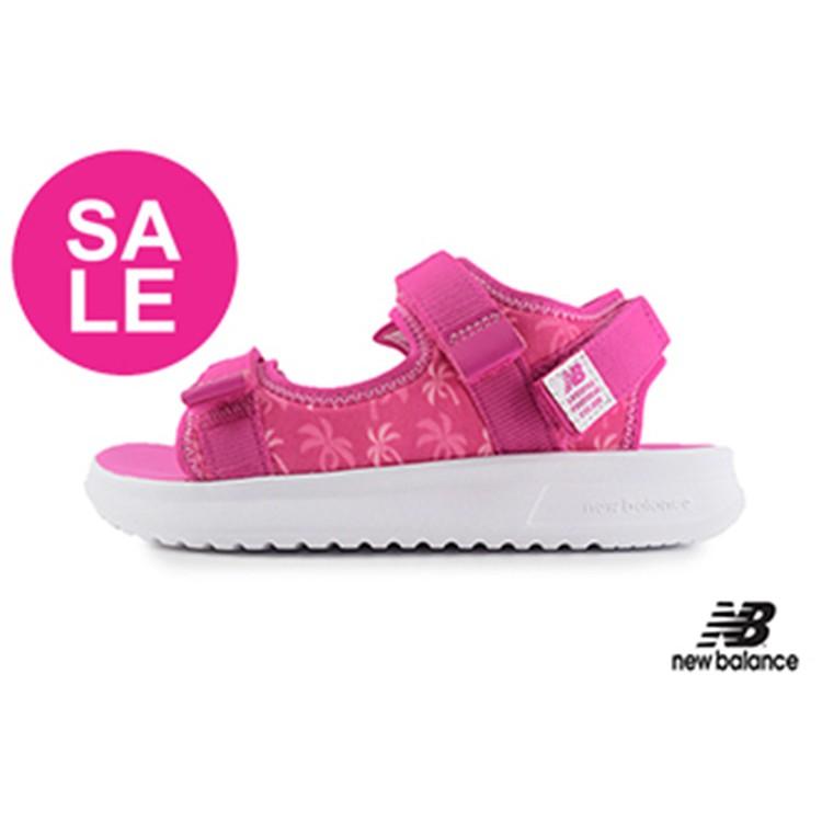 New Balance涼鞋 童涼鞋 防水涼鞋 織帶涼鞋 運動涼鞋 女童涼鞋 O8533 桃紅 OSOME奧森鞋業
