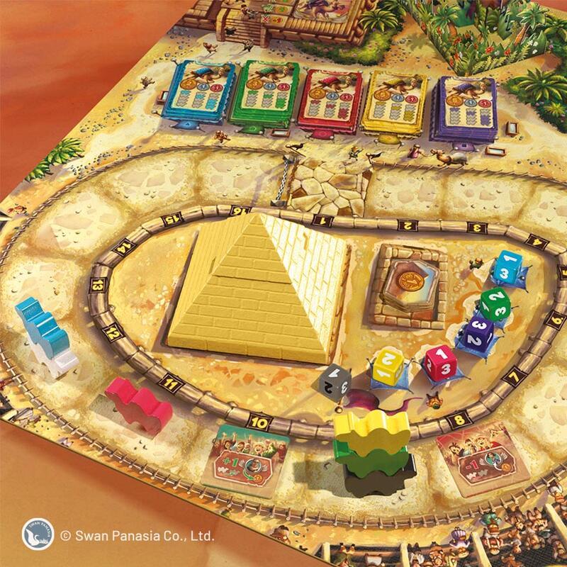 駱駝大賽 2020新版 CAMEL UP 2020 繁體中文版 高雄龐奇桌遊 國產桌上遊戲